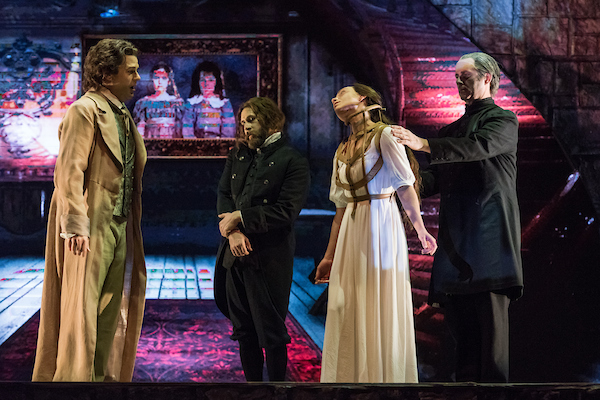 four people opera scary